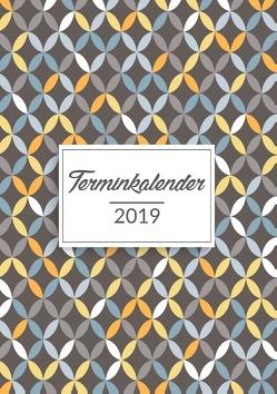 Terminkalender 2019 in A5 für das neue Jahr von Luna,  Lino
