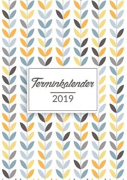 Terminkalender 2019 in A5 von Luna,  Lino