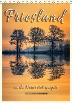 Terminplaner – Friesland, wo die Natur sich spiegelt (Tischkalender 2019 DIN A5 hoch) von Roder,  Peter