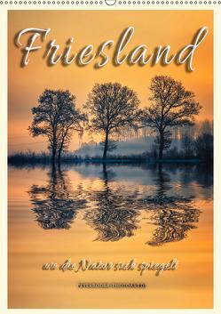 Terminplaner – Friesland, wo die Natur sich spiegelt (Wandkalender 2019 DIN A2 hoch) von Roder,  Peter