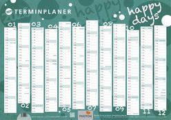 """TERMINPLANER """"HAPPY DAYS"""" Wandkalender 2020 von PHOTON Verlag"""