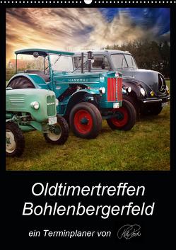 Terminplaner – Oldtimertreffen in Bohlenbergerfeld (Wandkalender 2021 DIN A2 hoch) von Roder,  Peter
