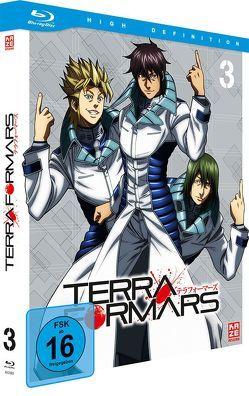 Terraformars – Blu-ray 3 von Hamasaki,  Hiroshi