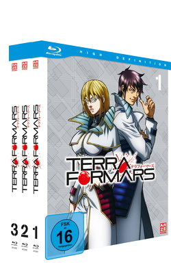 Terraformars – Blu-ray-Gesamtausgabe von Hamasaki,  Hiroshi