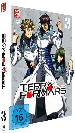 Terraformars – DVD 3 von Hamasaki,  Hiroshi