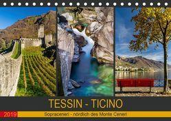 Tessin – Ticino (Tischkalender 2019 DIN A5 quer) von Caccia,  Enrico