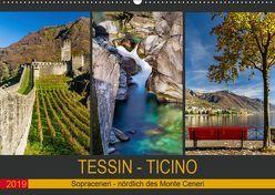 Tessin – Ticino (Wandkalender 2019 DIN A2 quer) von Caccia,  Enrico