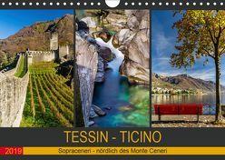 Tessin – Ticino (Wandkalender 2019 DIN A4 quer) von Caccia,  Enrico