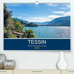Tessin, zwischen Lago Maggiore und Lugano (Premium, hochwertiger DIN A2 Wandkalender 2020, Kunstdruck in Hochglanz) von custompix.de