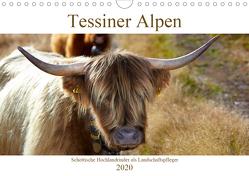 Tessiner Alpen – Lust auf NaTour (Wandkalender 2020 DIN A4 quer) von Riedmiller,  Andreas