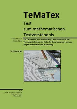 Test zum mathematischen Textverständnis von Jordan,  Roland, Stein,  Martin