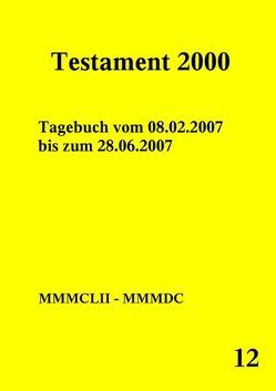 Testament 2000 – Band 12 von Norman,  Peter