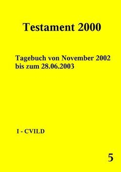 Testament 2000 – Band 5 von Norman,  Peter