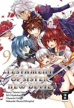 Testament of Sister New Devil 09 von Miyakokasiwa, Okuma,  Nekosuke, Steinle,  Christine, Uesu,  Tetsuto
