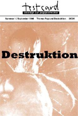 testcard #1: Pop und Destruktion von Buesser,  Martin, Dittmann,  Rigobert, Hofmann,  Frank, Kleinhenz,  Jochen, Riha,  Karl, Ullmaier,  Johannes