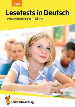Lesetests in Deutsch – Lernzielkontrollen 4. Klasse von Widmann,  Gerhard