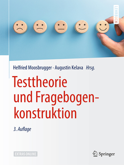 Testtheorie und Fragebogenkonstruktion von Kelava,  Augustin, Moosbrugger,  Helfried