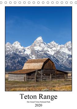 Teton Range – Der Grand Teton National Park (Tischkalender 2020 DIN A5 hoch) von Klinder,  Thomas