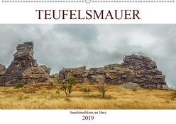Teufelsmauer – Sandsteinfelsen im Harz (Wandkalender 2019 DIN A2 quer) von Brunner-Klaus,  Liselotte