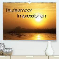 Teufelsmoor Impressionen (Premium, hochwertiger DIN A2 Wandkalender 2021, Kunstdruck in Hochglanz) von Adam,  Ulrike