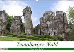 Teutoburger Wald – Natur und Kultur (Wandkalender 2020 DIN A2 quer) von Becker,  Thomas