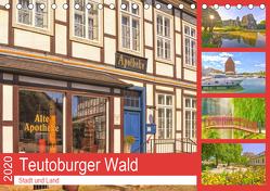 Teutoburger Wald – Stadt und Land (Tischkalender 2020 DIN A5 quer) von Hackstein,  Bettina