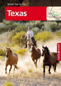 Texas – VISTA POINT Reiseführer Reisen Tag für Tag von Schmidt-Brümmer,  Horst, Sieler,  Carina