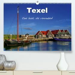 Texel – Eine Insel die verzaubert (Premium, hochwertiger DIN A2 Wandkalender 2021, Kunstdruck in Hochglanz) von Krone,  Elke