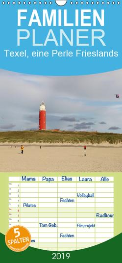 Texel, eine Perle Frieslands – Familienplaner hoch (Wandkalender 2019 , 21 cm x 45 cm, hoch) von Mueller,  Bernd