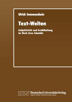 Text-Welten von Sonnenschein,  Ulrich