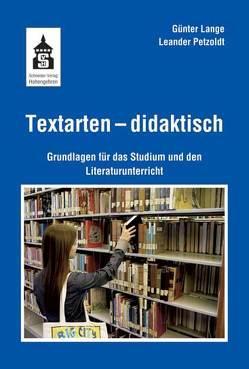 Textarten – didaktisch von Lange,  Günter, Petzoldt,  Leander