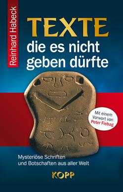 Texte, die es nicht geben dürfte von Habeck,  Reinhard
