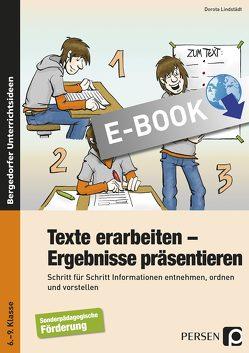 Texte erarbeiten – Ergebnisse präsentieren von Lindstädt,  Dorota