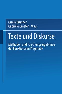 Texte und Diskurse von Brünner,  Gisela, Graefen,  Gabriele