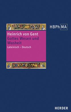 Texte zur Gotteslehre von Heinrich von Gent, Joachim,  Julian