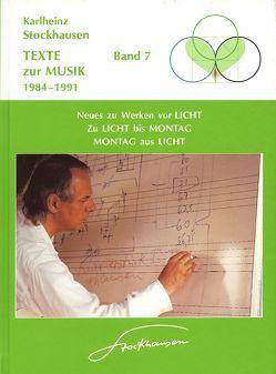 Texte zur Musik 1984-1991 von Stockhausen,  Karlheinz