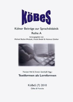 Textformen als Lernformen von Pohl,  Thorsten, Steinhoff,  Torsten