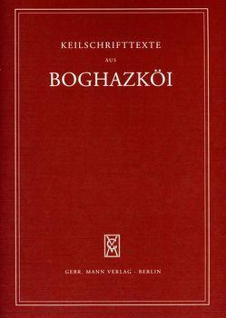 Textfunde von Büyükkale aus den Grabungen 1952-1959 mit Nachträgen aus den dreißiger Jahren von Otten,  Heinrich, Rüster,  Christel