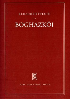 Textfunde von Büyükkale aus den Jahren 1934-1939 von Otten,  Heinrich, Rüster,  Christel