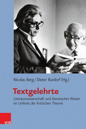 Textgelehrte von Berg,  Nicolas, Burdorf,  Dieter