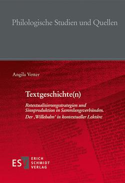Textgeschichte(n) von Vetter,  Angila