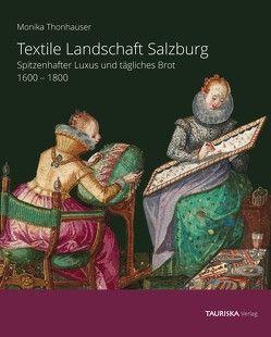 Textile Landschaft Salzburg von Monika,  Thonhauser