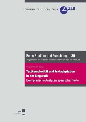 Textkomplexität und Textadaptation in der Linguistik. Exemplarische Analysen spanischer Texte von Roether,  Valentina