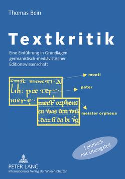 Textkritik von Bein,  Thomas