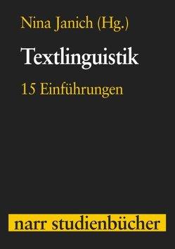 Textlinguistik von Janich,  Nina