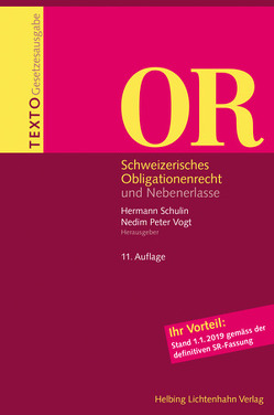 Texto OR von Schulin,  Hermann, Vogt,  Nedim Peter