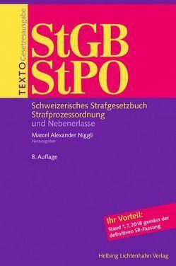 Texto StGB/StPO von Niggli,  Marcel Alexander