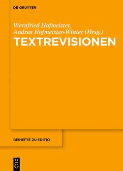 Textrevisionen von Hofmeister,  Wernfried, Hofmeister-Winter,  Andrea