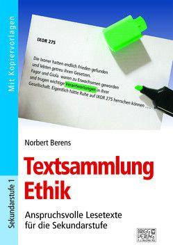 Textsammlung Ethik von Berens,  Norbert