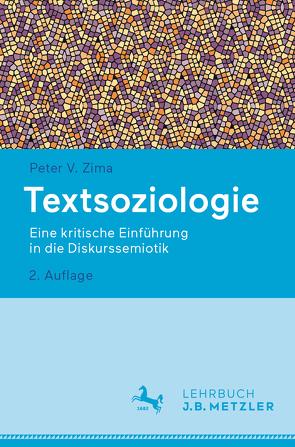 Textsoziologie von Zima,  Peter V.